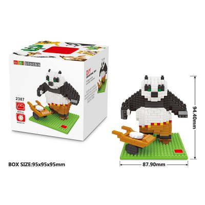 LOZ Panda Shape Building Block
