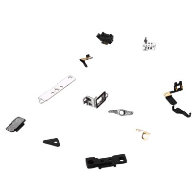 12Pcs Inner Accessories Inside Small Metal Parts Replacement for iPhone 4S