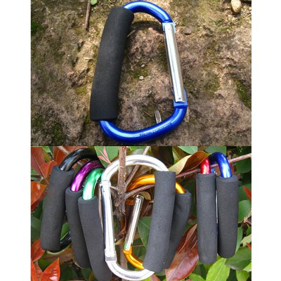 AOTU AT7607 Quick Release D - shaped Carabiner Buckle Clip for Outdoor Camping Hiking