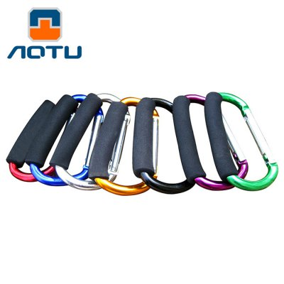 AOTU AT7607 Quick Release D - shaped Carabiner Buckle for Outdoor Camping Hiking