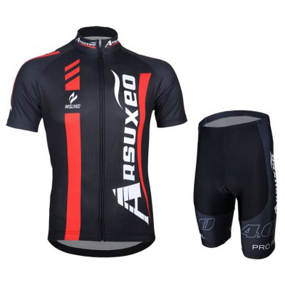 Arsuxeo ZSS55 Men Cycling Short Sleeve Suit