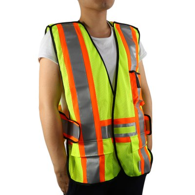 Salzmann Unisex Night Running Reflective Safety Vest