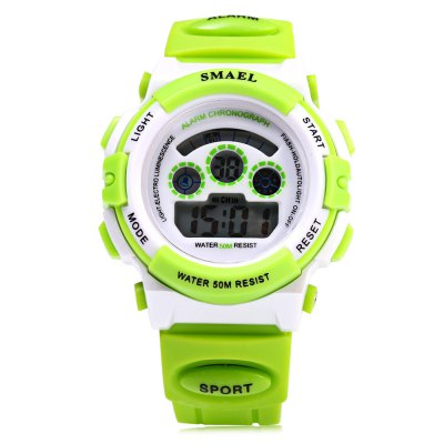 SMAEL 0704 Sports Girls Boys Digital Watch Candy Colors