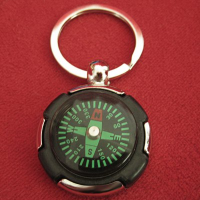 AOTU AT7624 Compass Keychain Tyre Shaped