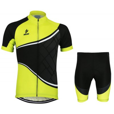 Arsuxeo ZSS57 Men Cycling Short Sleeve Suit
