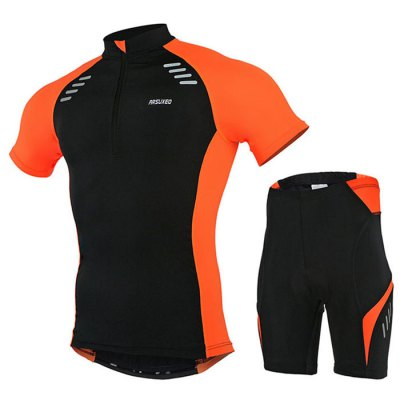 Arsuxeo 6015 Men Quick-drying Cycling Short Sleeve Suit