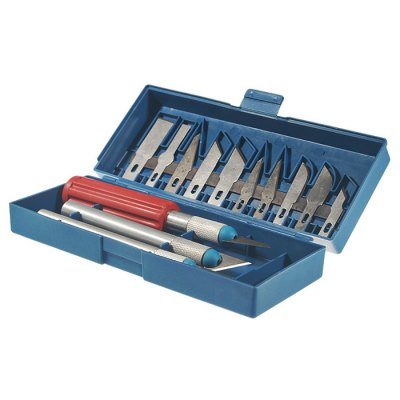 13-in-1 Carving Knifes Set with Carrying Case