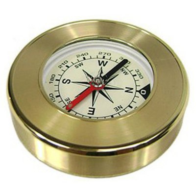AOTU AT7593 Travel Delicate Brass Compass