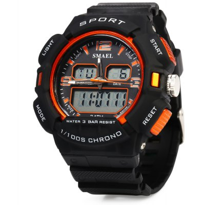 SMAEL 1378 Sports Digital Men Watch Chronograph Calendar