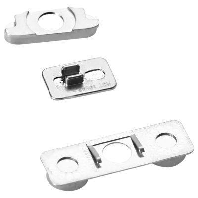 3 Pcs Side Button Power Volume Mute Switch Suit for iPhone 4S