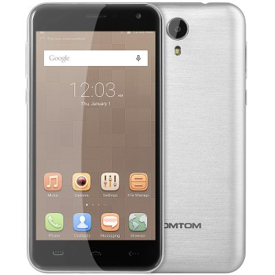 HOMTOM HT3 Pro 4G Smartphone  –  SILVER