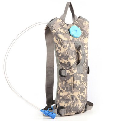 AOTU AT6905 9L Nylon Cycling Water BackpackBackpacks<br>AOTU AT6905 9L Nylon Cycling Water Backpack<br><br>Bag Capacity: 9L<br>Brand: AOTU<br>Capacity: 1 - 10L<br>Color: Army green,Black,Desert Camouflage,Jungle Camouflage,Marpat Desert,Soil,Terrain Camouflage,Three Sand Camouflage<br>Features: molle system<br>For: Other, Climbing, Cycling, Hiking, Traveling, Tactical<br>Material: Nylon<br>Package Contents: 1 x 9L Water Backpack<br>Package size (L x W x H): 40.00 x 24.00 x 7.00 cm / 15.75 x 9.45 x 2.76 inches<br>Package weight: 0.420 kg<br>Product size (L x W x H): 45.00 x 22.00 x 18.00 cm / 17.72 x 8.66 x 7.09 inches<br>Product weight: 0.300 kg<br>Type: Backpack