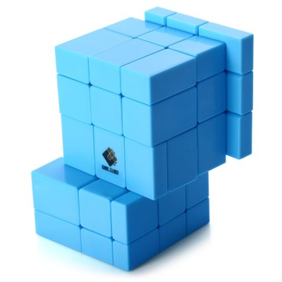 TSLT0049 Irregular Siamese Magic CubeClassic Toys<br>TSLT0049 Irregular Siamese Magic Cube<br><br>Age: Grownups<br>Difficulty: Irregular style<br>Material: Plastic<br>Package Contents: 1 x TSLT0049 Magic Cube<br>Package size (L x W x H): 10.00 x 7.00 x 7.00 cm / 3.94 x 2.76 x 2.76 inches<br>Package weight: 0.158 kg<br>Product size (L x W x H): 9.00 x 5.50 x 5.50 cm / 3.54 x 2.17 x 2.17 inches<br>Type: Magic Cubes