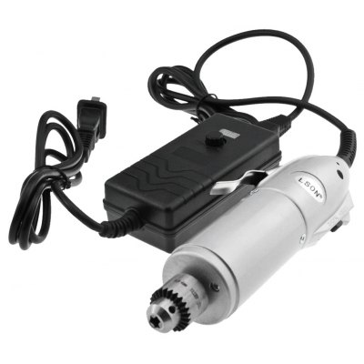 LSON Mini Electric Hand Drill Punch Cutting Tools Adjustable Speed