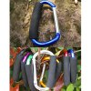 AOTU AT7607 Quick Release D - shaped Carabiner Buckle for Outdoor Camping Hiking deal