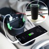QP16001 Multifunctional 3 USB Ports Car Charger photo