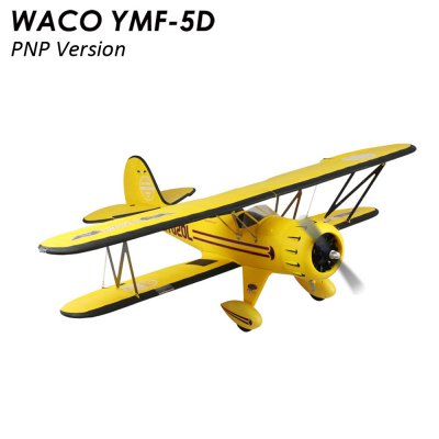 Dynam WACO YMF - 5D Aileron Roll 1270mm Wingspan Warplane Glider PNP Version
