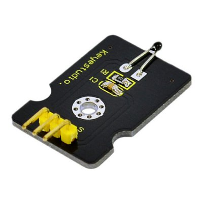 Keyestudio Analog Temperature Sensor Module Compatible with ArduinoSensors<br>Keyestudio Analog Temperature Sensor Module Compatible with Arduino<br><br>Brand: Keyestudio<br>Type: Analog Temperature Sensor Module<br>Material: FR-4<br>Mainly Compatible with: Ardunio<br>Product weight: 0.005 kg<br>Package weight: 0.027 kg<br>Product Size(L x W x H): 3.30 x 2.20 x 0.90 cm / 1.30 x 0.87 x 0.35 inches<br>Package Size(L x W x H): 16.00 x 16.00 x 2.00 cm / 6.30 x 6.30 x 0.79 inches<br>Package Contents: 1 x Analog Temperature Sensor Module