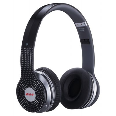 Haoer S490 HiFi Stereo Noise Cancelling Wireless Headphones with Mic Radio