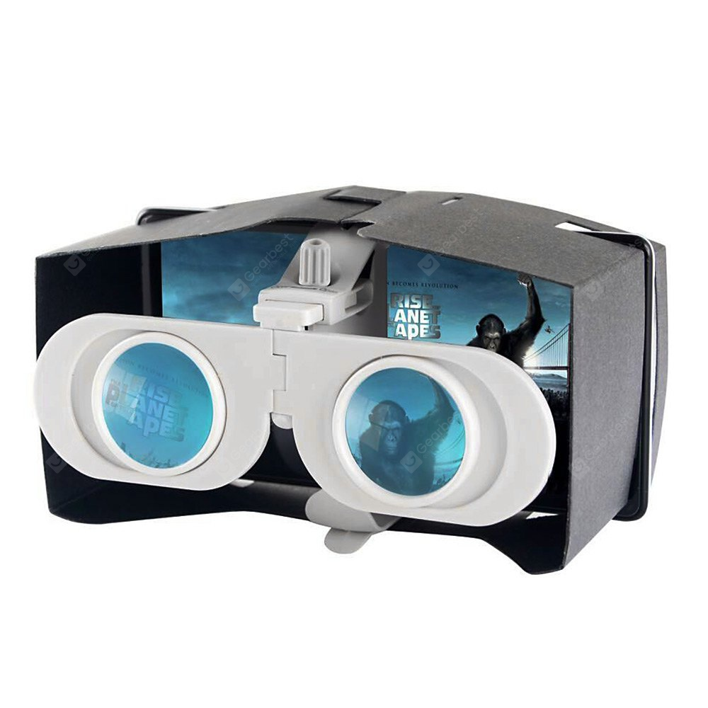 Foldable Virtual Reality 3D Glasses VR Box for 4 - 6 inch Mobile Phones