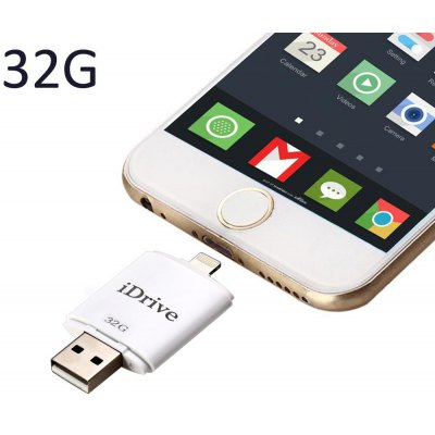 32GB 8Pin iDrive iReader USB 2.0 Flash Drive