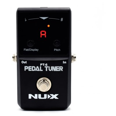NUX PT - 6 Electric Guitar Effect Pedal Tuner True Bypass