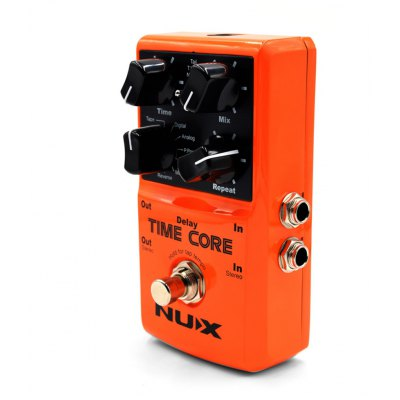 NUX Electric Guitar Time Core Effect Pedal 7 Delay Model