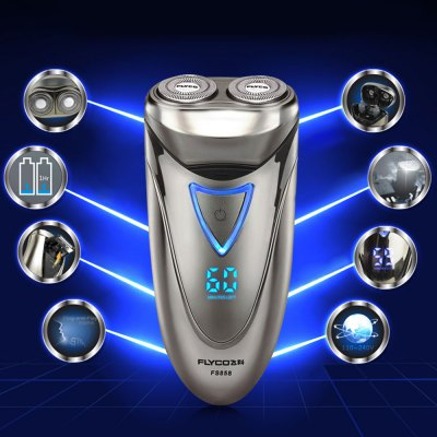 FLYCO FS858 Dual Floating Head Electric Shaver