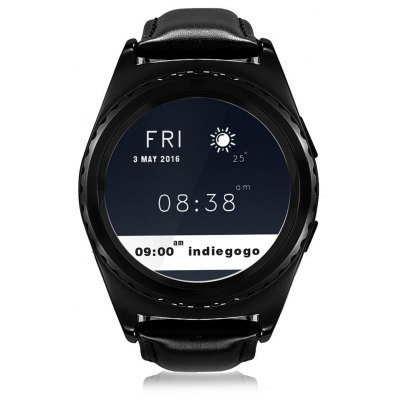 NO.1 S5 Heart Rate Monitoring Remote Camera Smart Watch