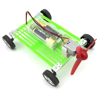 DIY Wind Car Educational Handmade Toy Battery OperatedNovelty Toys<br>DIY Wind Car Educational Handmade Toy Battery Operated<br><br>Features: DIY Toy, Educational<br>Materials: ABS, Metal<br>Package Contents: 1 x DIY Set<br>Package size: 10.00 x 15.00 x 20.00 cm / 3.94 x 5.91 x 7.87 inches<br>Package weight: 0.160 kg<br>Product size: 8.00 x 11.00 x 15.00 cm / 3.15 x 4.33 x 5.91 inches<br>Series: Entertainment<br>Theme: Science