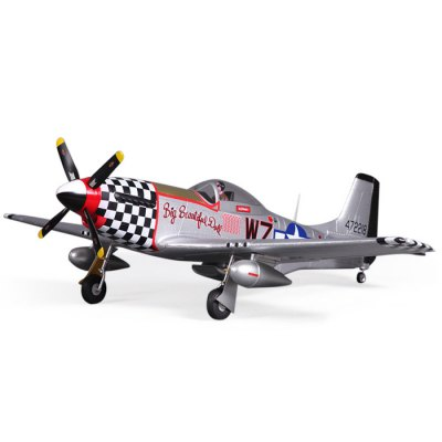 FMS 800MM P51 V2 Big Glider Model KIT Version RC Aircraft Toy Gift for Flying Lover