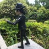 best PVC + ABS Singer Style Action Figure Movable Cartoon Decor - 2.4 inch