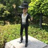 PVC + ABS Singer Style Action Figure Movable Cartoon Decor - 2.4 inch deal