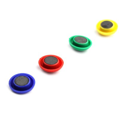 10PCS FUNI CT-16 Office Round Magnet Button10PCS FUNI CT-16 Office Round Magnet Button<br><br>Material: ABS<br>Color: Blue,Green,Red,Yellow<br>Package weight: 0.188 kg<br>Product size (L x W x H): 16.00 x 8.00 x 1.20 cm / 6.3 x 3.15 x 0.47 inches<br>Package size (L x W x H): 18.00 x 10.00 x 2.20 cm / 7.09 x 3.94 x 0.87 inches<br>Package Contents: 10 x FUNI CT-16 Office Round Magnet