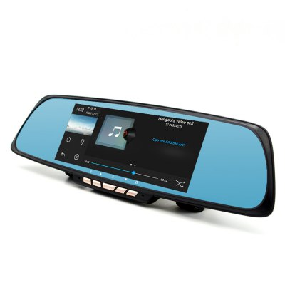 Junsun A700 Android Car Rearview Mirror GPS Navigator DVR with Free MapCar DVR<br>Junsun A700 Android Car Rearview Mirror GPS Navigator DVR with Free Map<br><br>Type: GPS<br>Model: A700<br>CPU: Allwinner A33<br>Function: E-book,FM Transmitter,Language selection,MP3/MP4 Players,Music/Video player,Navigation,Photo browser,Touch Screen<br>Operating system: Android<br>Language: English,German,Italian,Japanese,Polski,Portuguese,Simplified Chinese<br>About Maps : Europe, North America, South America, Australia, Middle East, Southeast Asia<br>Color: Black<br>ROM: 16G<br>RAM: 1GB<br>Memory: 16GB<br>Memory card support: TF card<br>External memory card: 64G (not included)<br>Screen size: 6.86 inch<br>Port: Mini USB port,TF Card Slot<br>Charging way: Car charger<br>Battery: 650mAh built-in battery<br>Video: MP4<br>Music: MP3<br>Picture: JPG<br>E-book: TXT<br>Touch-screen: Yes<br>Product weight: 0.350 kg<br>Package weight: 1.050 kg<br>Product size (L x W x H): 30.50 x 8.00 x 1.50 cm / 12.01 x 3.15 x 0.59 inches<br>Package size (L x W x H): 37.00 x 15.00 x 9.00 cm / 14.57 x 5.91 x 3.54 inches<br>Package Contents: 1 x Car GPS Navigator, 1 x Camera (6m), 1 x GPS Antenna (1.5m), 1 x Car Charger (3m), 1 x USB Cable (60cm), 2 x Screw, 1 x Adhesive Sticker