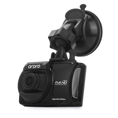 ORDRO Q503-II 1080P 130 Degree Wide Angle Car DVR RecorderCar DVR<br>ORDRO Q503-II 1080P 130 Degree Wide Angle Car DVR Recorder<br><br>Brand: Ordro<br>Model: Q503-II<br>Type: Full HD Dashcam<br>Chipset Name: Novatek<br>Chipset: Novatek 96655<br>Max External Card Supported: TF 32G (not included)<br>Class Rating Requirements: Class 10 or Above<br>Screen size: 2.7inch<br>Screen type: LCD<br>Battery Type: Built-in<br>Charge way: Car charger<br>Wide Angle: 130 degree wide angle lens<br>ISO: Auto,ISO100,ISO200,ISO400<br>Decode Format: H.264<br>Video Resolution: 1080P (1920 x 1080),720 x 480,720P (1080 x 720),848 x 480,VGA (640 x 480)<br>Video Frame Rate  : 30fps<br>Video Output : HDMI<br>PC CAM: 1280 x 720,320 x 240,640 x 480<br>Image Format : JPEG<br>Image resolution: 1.3M (1280 x 960),10M (3648 x 2736),12M (4032 x 3024),2M (1920 x 1080),3M (2048 x 1536),5M (2592 x 1944),8M (3264 x 2448),VGA (640 x 480)<br>Audio System : Built-in microphone/speacker (AAC)<br>Exposure Compensation: +1,+1/3,+2,+4/3,+5/3,-1,-1/3,-2,-2/3,-4/3,-5/3,0,2/3<br>White Balance Mode  : Auto,Cloudy,Daylight,Fluorescent,Tungsten<br>Loop-cycle Recording : Yes<br>Loop-cycle Recording Time: 10min,3min,5min,OFF<br>Motion Detection: Yes<br>Night vision : Yes<br>G-sensor: Yes<br>HDMI Output: Yes<br>USB Function: PC-Camera,USB-Disk<br>Time Stamp: Yes<br>Interface Type: Mini HDMI,Mini USB,TF Card Slot<br>Language: English,Simplified Chinese,Traditional Chinese<br>Frequency: 50Hz,60Hz<br>Operating Temp.: -10 - 65 centigrade degree<br>Operating RH  : 10 - 80 percent<br>Product weight: 0.058 kg<br>Package weight: 0.519 kg<br>Product size (L x W x H): 8.00 x 5.00 x 1.80 cm / 3.15 x 1.97 x 0.71 inches<br>Package size (L x W x H): 19.20 x 14.50 x 11.50 cm / 7.56 x 5.71 x 4.53 inches<br>Package Contents: 1 x Car DVR, 1 x Car Charger (3m Approx.), 1 x USB Cable (70cm Approx.), 1 x Suction Cup Bracket, 1 x English User Manual