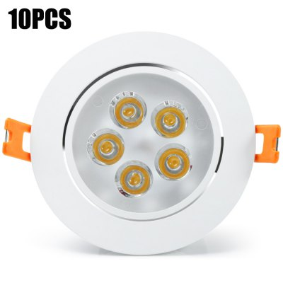 10 x YouOKLight 450LM 5W Recessed LED Downlight