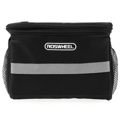Roswheel Outdoor Portable Bicycle Cycling Front Basket Pannier Frame Tube Handlebar Bag