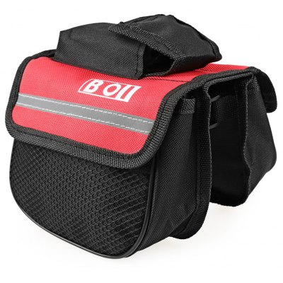 Roswheel Waterproof Mountain Bicycle Cycling Frame Front Tube Bag Panniers Accessorie