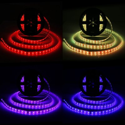 BRELONG 300 x SMD5050 / 5M 60W Waterproof RGB LED Rope Light