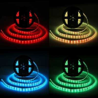 BRELONG 300 x SMD5050 / 5M Waterproof RGB LED Light StripLED Strips<br>BRELONG 300 x SMD5050 / 5M Waterproof RGB LED Light Strip<br><br>Brand: BRELONG<br>Connector Type: US plug, EU plug<br>Features: IP-65, Low Power Consumption, Remote Control, Waterproof<br>Input Voltage: AC100-240<br>LED Type: SMD-5050<br>Material: FPC, Silicone<br>Number of LEDs: 300 x SMD 5050 / 5M, 60 x SMD 5050 / M<br>Optional Light Color: RGB<br>Output Voltage: DC 12V<br>Package Contents: 1 x BRELONG RGB LED Strip Light, 1 x Remote Controller, 1 x Control Box, 1 x Power Adapter, 1 x Power Cable<br>Package size (L x W x H): 22.00 x 20.00 x 1.20 cm / 8.66 x 7.87 x 0.47 inches<br>Package weight: 0.620 kg<br>Product size (L x W x H): 500.00 x 1.00 x 0.20 cm / 196.85 x 0.39 x 0.08 inches<br>Product weight: 0.570 kg<br>Rated Current (A): 5A<br>Rated Power (W): 60W<br>Type: LED Strip