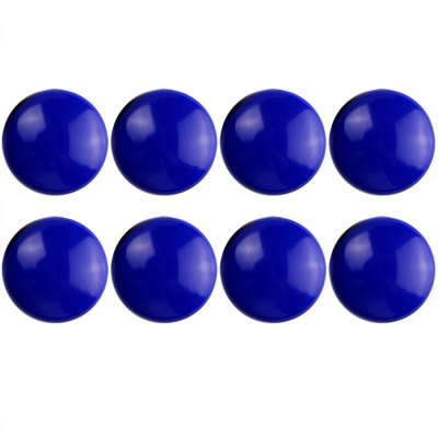 8PCS FUNI CT-17 Office Whiteboard Round Magnets