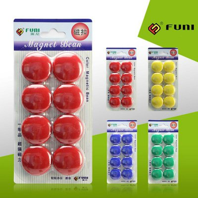 8PCS FUNI CT-17 Office Whiteboard Round Magnets от GearBest.com INT