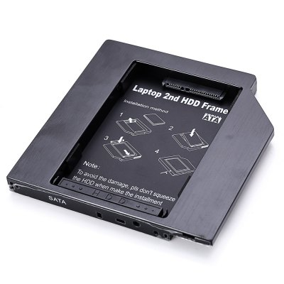 12.7mm 2nd Hard Disk Drive Frame Notebook HDD Caddy