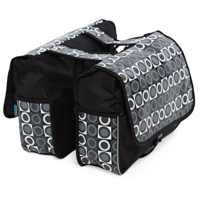 Roswheel Circle Pattern Stickup Buckle Closure Mountain Bycicle Bilateral Storage Bag