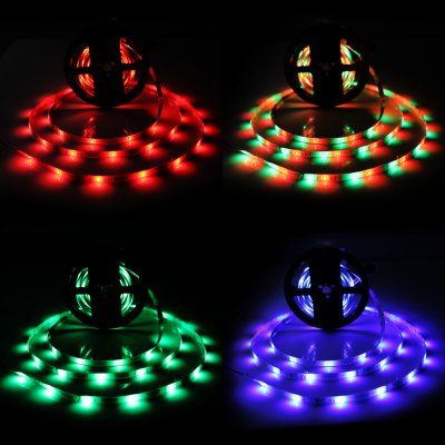 BRELONG 300 x SMD 2835 / 5M 24W Waterproof RGB LED Light Strip
