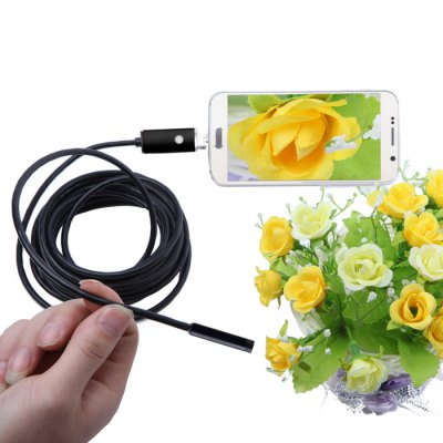 NV99-B5-5.5 2 in 1 5.5mm Lens Android PC Endoscope