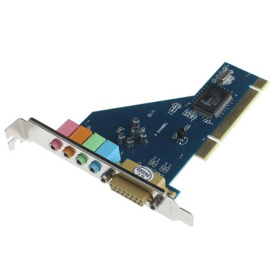USB External 4.1 Channel PCI Sound Audio Card Adapter