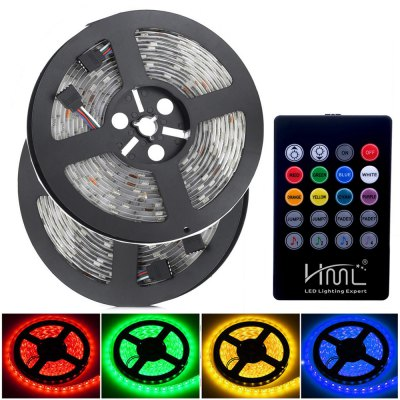 2PCS HML 300 x SMD5050 / 5M 72W Waterproof RGB LED Light Strip