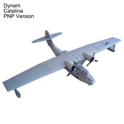 Dynam Catalina 1470mm Wingspan Seaplane Gift for Flying Lover PNP Version